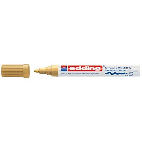Mattlack-Marker edding 4000 creative, 2-4 mm, gold