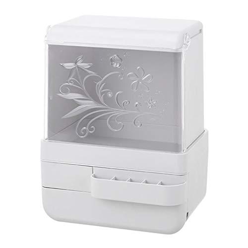 ZINIUKEJI Desktop Transparent Cover Staubdicht Make-Up Aufbewahrungsbox Wasserdichte Multifunktions Kunststoff Badezimmer Toilette
