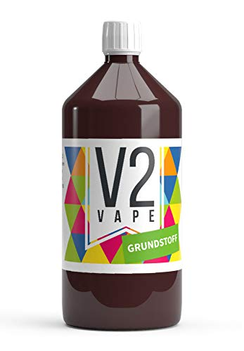 V2 Vape E-Liquid Base Base 1000ml Grado farmacéutico