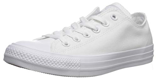 Converse Ct Mono Lea Ox, Unisex - Erwachsene Low-top Sneaker, Weiß (White 100), 43 EU -