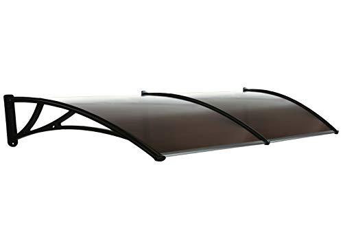 Ava groupe Canopy/noir Dos Auvent pour abri de jardin de toit de porte/fenêtre Abat-jour terrasse Housse de pluie/Modèle B1300sb