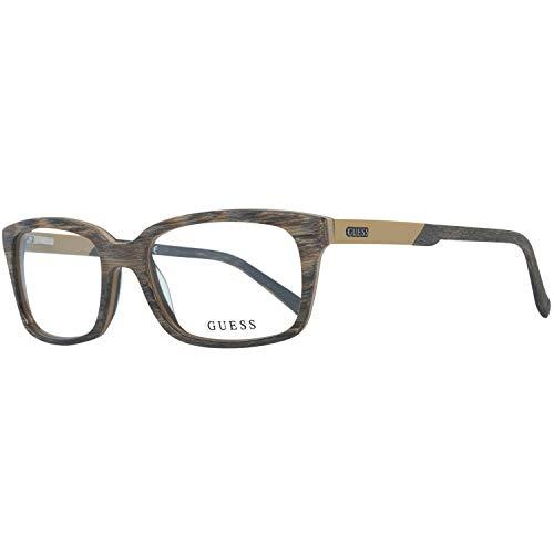Guess Herren Brille Gu1846 K57 54 Brillengestelle, Braun,