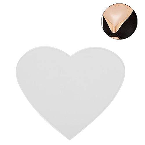 Anti-Falten-Brustpolster, beseitigt und verhindert Brustfalten, wiederverwendbar, Silikon, 100% medizinische Qualität für Frauen, 2 Stück