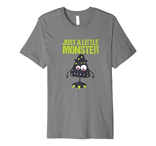 Funny just a little monster Jungen Kleinkind -