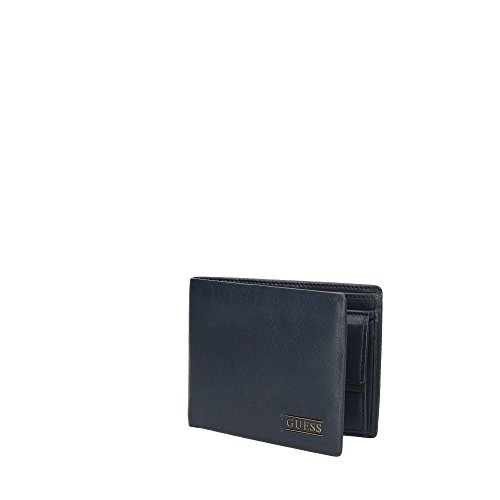 Guess Sm4014lea20, Borsa Organizer Portatutto Uomo, 2.5 x 9.6 x 12.2 cm (W x H x L) Blu (Blue Navy)
