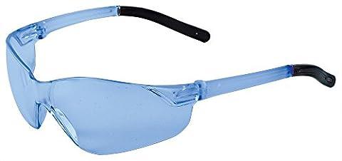 ERB 17061–12Inhibitor NXT Schutzbrille mit Blau Grau Tempel & Blue grau Objektiv (12Pack)