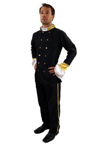 Zarin Kostüm - DRESS ME UP Kostüm Uniform Südstaaten Civil War Offizier Zar Gr. 56 XL