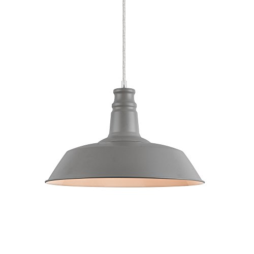 [lux.pro]® Lámpara de techo estilo vintage con diseño moderno - (gris)