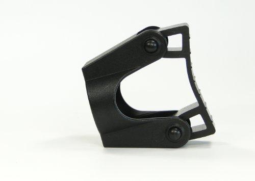 314Egr7RhGL - Soporte para bastón para andador y tubos de silla Fijación en 20mm, para bastón con D = 15-20mm