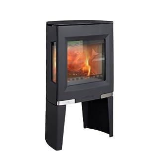 Aduro 13-1 5kW Black Contemporary Wood Burning Stove