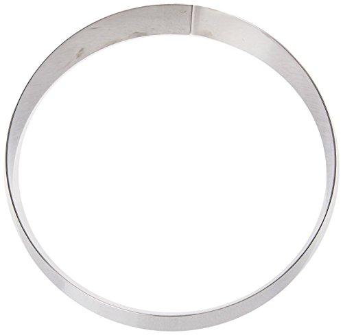 Matfer-mousse (Matfer Edelstahl Mousse Ring 200mm Durchmesser. Einzeln verkauft.)