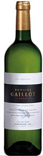 Juran? Sec - Domaine Gaillot Hirunda 2015 - Jurancon - Vin blanc sec - 75 Cl