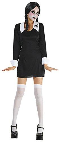 Party Pro 87286934Schulmädchen Kostüm von Mittwoch, Größe 36 (Halloween-kostüm Mittwoch)