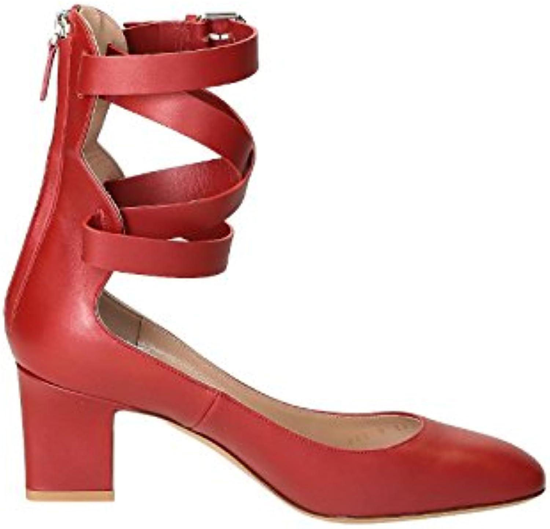 Valentino Valentino Valentino Garavani Femme MW0S0C62VNP0RO Rouge Cuir EscarpinsB07BBKBMWFParent 999c35