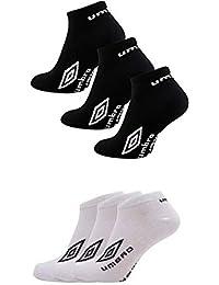b22b0c740691 12 Pairs - Mens Official Umbro Sport Trainer Liner Socks Ankle Invisible  Socks - UK Size
