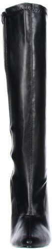 Pleaser Domina-2000, Damen Stiefel Blk Str Pat