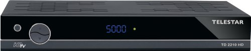 Telestar TD 2210 HD digitaler HDTV-Satelliten Receiver (HDMI, Scart, USB 2.0, PVR ready) schwarz