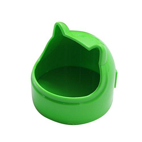 URIJK Haustier Katzenapf Hundenapf Futternapf Essen Schüssel Essen Box Kaninchen Essen Schüssel für Hamster Eichhörnchen Chinchilla Meerschweinchen Kaninchen (Meerschweinchen Essen)