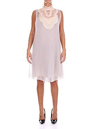 check out e7ac7 1f337 Prada P35Z81QKI Vestiti Donna Perla 42: Amazon.it: Abbigliamento