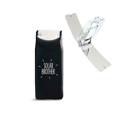 Encendedor solar SOLAR BROTHER - Funda ecológica Solar - Suncase Negro