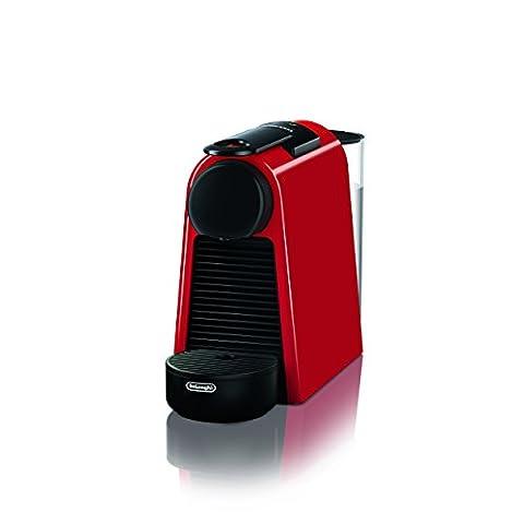 De'Longhi Essenza Mini EN 85.R Nespresso Kapselmaschine, 19 bar, rot
