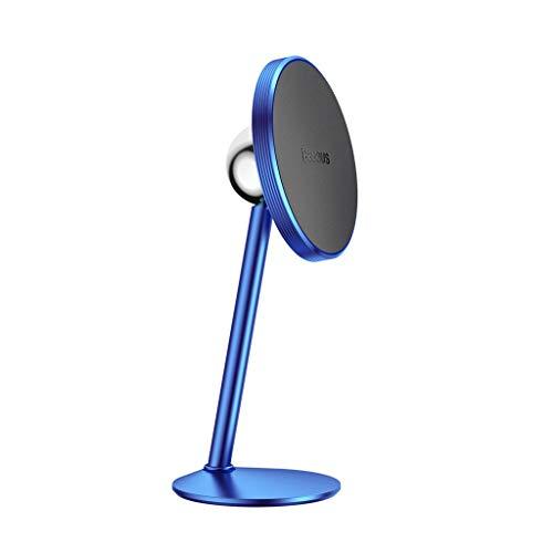 TianranRT Universal Navigation Rahmen magnetisch Rahmen klein Solar magnetisch Auto Telefon Halter (Blau) -