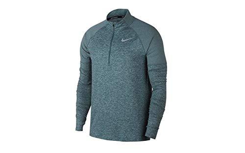 Nike Herren M NK ELMNT HZ 2.0 Long Sleeved T-shirt, Grau (hasta/aviator grey/Reflective/387), M