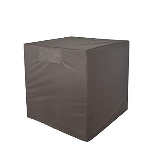 OA-Cover Housse De Protection, Cache-Poussière Extérieur du Climatiseur Noir Housse De Pluie pour Mobilier D'extérieur, Convient pour La Climatisation/Meubles,Gray,76 * 81 * 81Cm