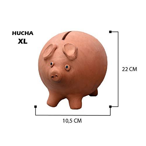 Hogar y Mas Hucha Cerdito de Barro cocido XL