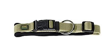 Hunter - Collier en nylon - Chien (30) (Vert/Noir)