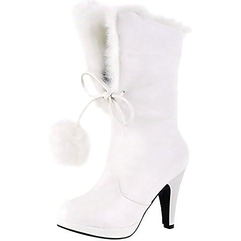 Stivali da Neve Scarpe col Tacco Alto Stivali Scarpe da