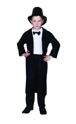 Abraham Lincoln Child Kostüm - RG Costumes Abraham Lincoln, Child Small/Size