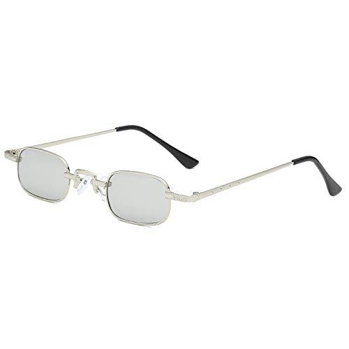 ANSKT Quadratische Sonnenbrille mit kleinen Kästchen, 4UV 400 Outdoor-Sportbrillen polarisierte Sonnenbrillen Reitbrillen, geeignet zum Skifahren von Golf-Bikes beim Fischen mit Baseball