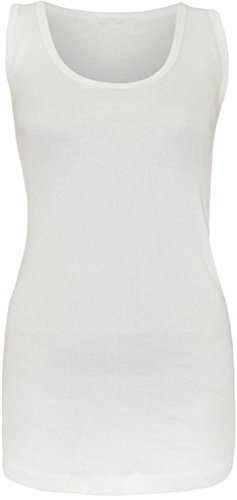 H&F Girls ® Damen Top XXXX-Large Gr. 48-50, weiß