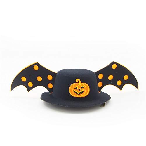 Ouken 1 pz animali cap cappello della zucca capelli accessori chrismas halloween cappello per cane gatto
