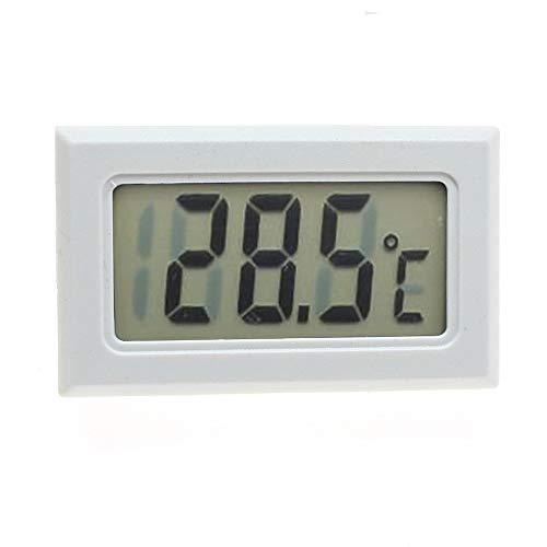 RainBabee Thermometer Kühlschrankthermometer Digitales Mini-LCD-Display Meter Kühlschränke Gefrierschränke Kühler Aquarium Chillers Mini 1M Probe Instrument 1St