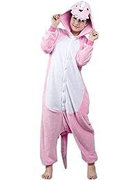 WOWCOS Unisex Adult Pikachu Onesie Cosplay Costume Pajamas Animal Kigurumi Halloween Xmas Gift