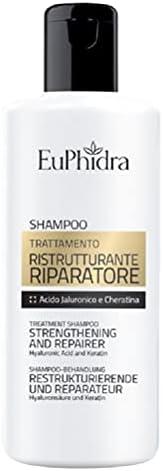 Zeta Farmaceutici Shampoo Trattamento Ristrutturante Riparatore, Bianco, 200 Millilitro