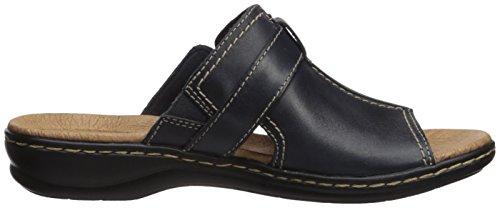 Clarks Leisa Gianna Dress Sandal navy leather