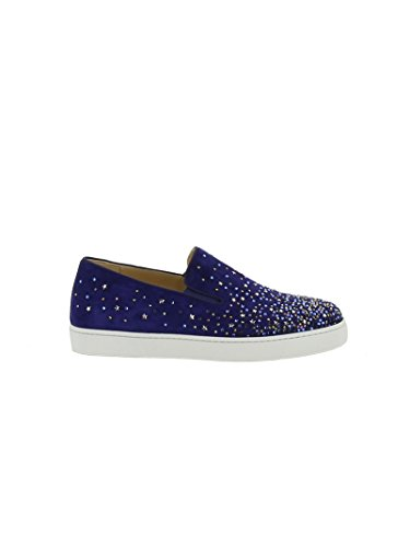 christian-louboutin-slip-on-sneakers-donna-1170482m608-camoscio-blu