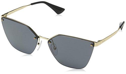 Prada Damen 0PR68TS 7OE5Z1 63 Sonnenbrille, Antique Gold/Polargrey
