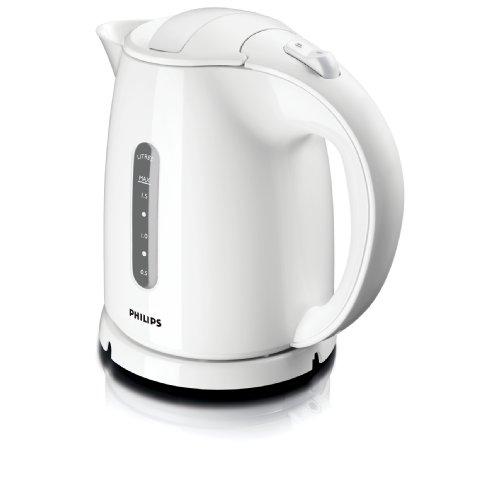 Philips HD4646/00 Wasserkocher (1,5 Liter, 2400 Watt, Flaches Heizelement) weiß - 3
