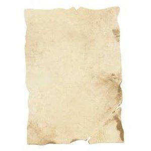 Dokumentenpapier antik 30 x 41,7 cm hellbraun gemustert 10 Blatt