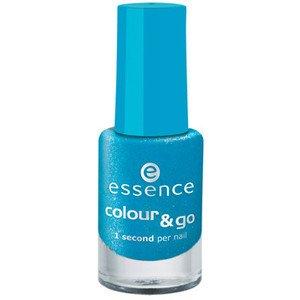 Preisvergleich Produktbild Essence Colour & Go Quick drying Nail Polish Nr. 17 Pool Party Inhalt: 5ml Nagellack Nail Polish für strahlend schöne Nägel