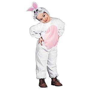 WIDMANN 36047 - Disfraz infantil de conejo y conejo, multicolor, 104 cm/2 - 3 años