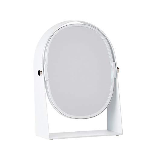 Zone Denmark - Kosmetikspiegel mit Vergrößerungseffekt oval, weiß