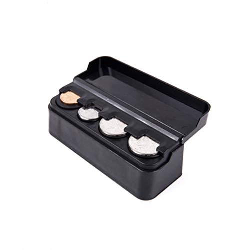 Toyvian Caja Monedas Coche Caja Almacenamiento Cambio