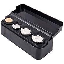 LIOOBO Caja de Monedas para automóviles Caja de Almacenamiento de Cambio Suelto Caja de Monedas para