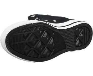 Converse Ctas Hi, Sneakers Femme Noir (Black/silver/black)