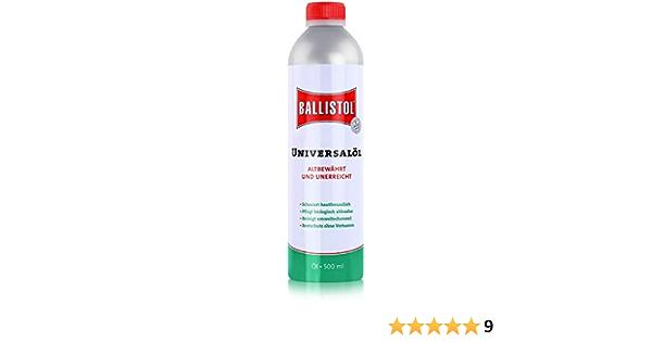 Unbekannt F W 21150 Ballistol Öl 500 Ml Auto